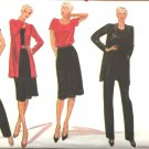 Retro Vogue Sewing Pattern 8069 Misses Size 8-10 Jacket Top Skirt Pants Wardrobe
