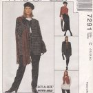 McCall's Sewing Pattern 7291 Misses Size 10-14 Wardrobe Jacket Vest Pants Skirt Top