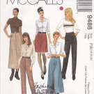 McCall's Sewing Pattern 9488 Misses Size 18-20-22 Basic Slim Pants A-Line Skirts Length Options