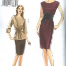 Vogue Sewing Pattern 8278 Misses Sizes 14-16-18-20 Easy Straight Dress Skirt Pullover Top Sash