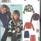 Simplicity Sewing Pattern 9420 Girls Size 3-6 Long Sleeve Jacket Vest Purse Bag
