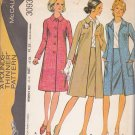 McCall's Sewing Pattern 3093 Misses Size 18 Pounds Thinner Design Classic Coat Skirt