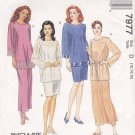 McCall's Sewing Pattern 7977 Misses Size 12-16 Easy Tunic Camisole Skirt Two Lengths Sleeve Options