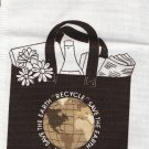 "DIY Ecology Tote Bag 16""X15 1/2""x5"" Heavy Duty Cotton Cranston Village Pre-Cut Bag Pieces"