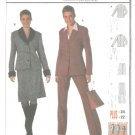 Burda Sewing Pattern 8588 Misses Sizes 10-22 Suit Lined Jacket Skirt Pants