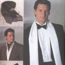 Vogue Sewing Pattern 7104 Men's Fashion Accessories Necktie Bowtie Scarf Cummerbund