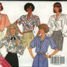 Butterick Sewing Pattern 4032 Misses Size 8-12 Easy Classic Button Front Shirt Blouse Sleeve Options
