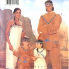 Butterick Sewing Pattern 4171 Child's Boys Girls Size 2-6X Native American Indian Costume