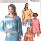 Butterick Sewing Pattern 4189 Misses Size 6-14 Easy Loose Fitting Pullover Tops
