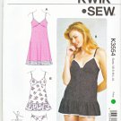 Kwik Sew Sewing Pattern 3554 Misses Size 8-22 Underwear Lingerie Panties Slips