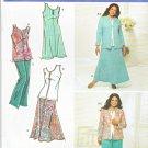 Simplicity Sewing Pattern 3805 Women's Plus Size 20W-28W Wardrobe Dress Skirt Pants Jacket Top