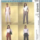 McCall's Sewing Pattern 4459 Misses Size 10-14 Palmer/Pletsch Classic Fit Pants Trousers Slacks