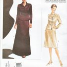 Vogue Sewing Pattern 2764 Misses Size 6-8-10 Oscar de la Renta Jacket Skirt