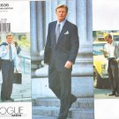 Vogue Sewing Pattern 2836 V2836 Mens Chest Size 32-34-36 Jacket Pants Suit Sportscoat