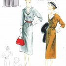 Vogue Sewing Pattern 8851 V8851 Misses Size 6-14 Vintage Original 1952 Design Straight Dress Collar