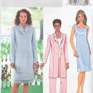 Butterick Sewing Pattern 4139 Misses Size 8-10-12 Easy Long Button Front Jacket Top Dress Pants