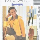 McCall's Sewing Pattern 3750 Misses Size 16-22 Easy Sew News Button Front Jacket Skirt Pants