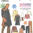 Simplicity Sewing Pattern 9474 Junior Size 3/4-9/10 Wardrobe Coat Skirt Knit Top Pants Shirt Purse