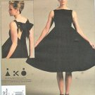 Vogue Sewing Pattern 1102 Misses Size 6-12 Easy Andrea Katz Objects Easy Sleeveless Dress
