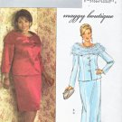 Butterick Sewing Pattern 4694 B4694 Womans Plus Size 18W-24W Formal Jacket Long Short Straight Skirt