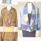 Vogue Sewing Pattern 7907 Misses Sizes 16-22 Marci Tilton Unlined Embellished Loose-Fitting Jacket