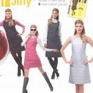 Simplicity Sewing Pattern 1252 Misses Sizes 14-22 Vintage Style Jiffy Slight A-Line Dress Jumper