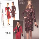 Simplicity Sewing Pattern 1777 Misses Sizes 14-22 Vintage Style 1940's Dress Ruching Details