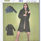 Burda Sewing Pattern 8773 Misses Sizes 8-18 Easy Zipper Front Jacket Coat