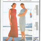 Burda Sewing Pattern 2660 Misses Size 8-18 Easy Fitted Summer Straight Dress