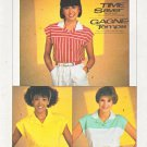 Simplicity Sewing Pattern 550 6755 Misses Sizes 10-14 Easy Time Saver Pullover Knit Top