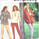 Simplicity Sewing Pattern 7581 Misses Size 12-16 Wardrobe Pants Top Unlined Jacket Hoodie