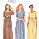 Butterick Sewing Pattern 6931 Misses Size 8-12 Easy Loose Fitting Pullover Dress Short Sleeves