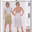 Burda Sewing Pattern 8637 Misses Sizes 10-24 Easy Fitted Straight Skirts