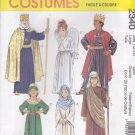 McCall's Sewing Pattern 2340 Boys Girls Size 12-14 Nativity Angel King Mary Wise Men Costumes