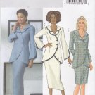 Butterick Sewing Pattern 4388 Misses Size 8-10-12-14 Easy Asymmetrical Double Collar Jacket  Skirt