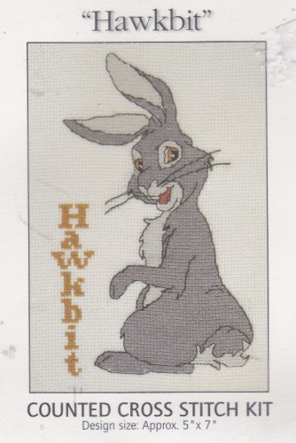 Hawkbit Watership Down DMC Counted Cross Stitch Kit #K3820US