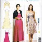 Kwik Sew Sewing Pattern 3736 Misses Sizes 8-22 Long Short Flared Skirt Dress Bolero Jacket