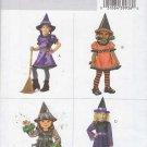 Butterick Sewing Pattern 4629 Girls Size 4-5-6 Easy Witch Leprechaun Costume Dress Hat