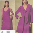 Vogue Sewing Pattern 1180 Misses Size 14-20 Tom Linda Platt Loose Fitting Jacket Sleeveless Dress