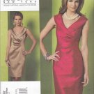 Vogue Sewing Pattern 1182 Misses Size 16-22 Kay Unger Fitted Sleeveless Straight Dress