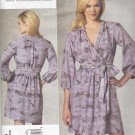 Vogue Sewing Pattern 1189 Misses Sizes 16-22 Easy Rebecca Taylor Pullover Dress