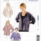 Kwik Sew Sewing Pattern 2829 Misses Sizes XS-XL (approx 6-22) Front Button Dolman Sleeve Jacket