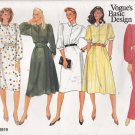 Vogue Sewing Pattern 2919 Misses Size 10 Basic Classic Shirtwaist Long Short Dress