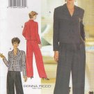 Butterick Sewing Pattern 3723 Misses Size 6-10 Easy Donna Ricco Jacket Pants Suit