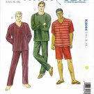 "Kwik Sew Sewing Pattern 3044 Men's Sizes S-XXL (Waist 28""- 46"") Knit Pajama Pygama Pants Shorts Tops"
