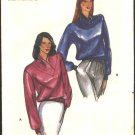 Butterick Sewing Pattern 3422 Misses Size 12-14 Long Sleeves Knit Top Waistline Knit Band