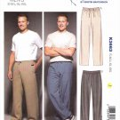 "Kwik Sew Sewing Pattern 3663 Men's Sizes S-XXL (Chest  34""- 52"") Casual Drawstring Pants Sweatpants"