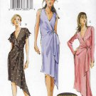 Vogue Sewing Pattern 7898 Misses Sizes 18-20-22 Easy Front Wrap Knit Dress