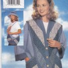 Butterick Sewing Pattern 4423 Misses Size 6-24 Strip-Quilted Hat Purse Handbag Jacket