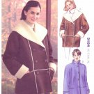 Kwik Sew Sewing Pattern 3184 Misses Sizes XS-XL (approx 6-22) Button Front Shearling Jackets
